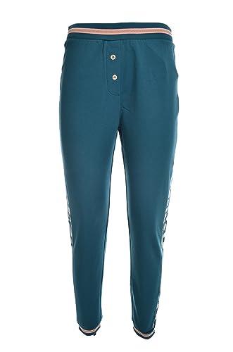 Liu Jo Sport Pantaloni Fianchi maculati Fascia Cinta e Polsi Donna ... d7656166d3b
