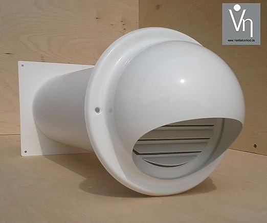 Muro Buzón NW 150 Campana Tubo telescópico Válvula antirretorno Acero Inoxidable mkwske150: Amazon.es: Hogar