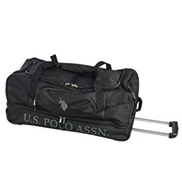 bc03a8aedcac Amazon.com  U.S. Polo Assn 30in Deluxe Rolling Duffle Bag