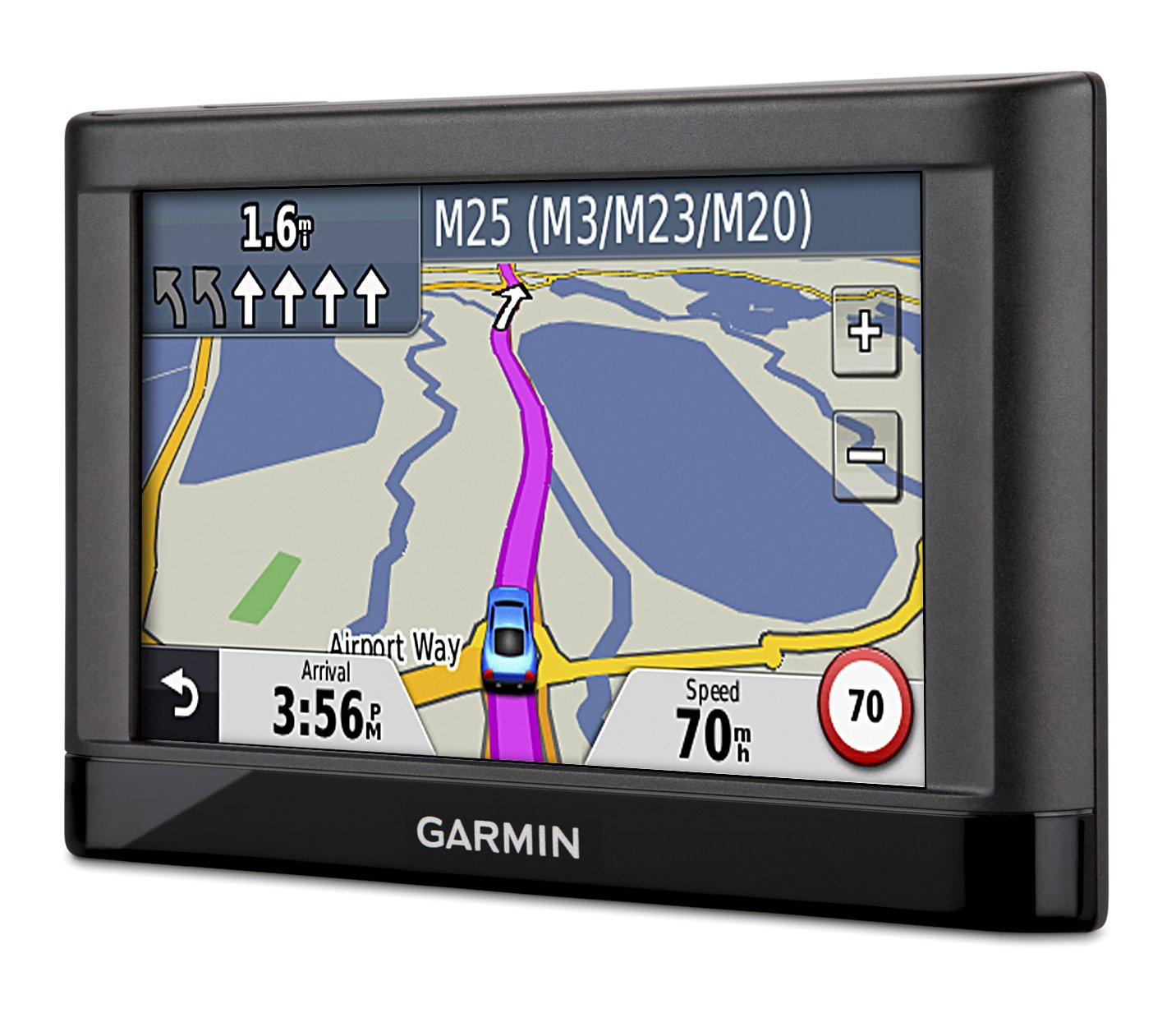 garmin nuvi 42lm 4 3 inch satellite navigation with uk and ireland maps and free lifetime map updates amazon co uk electronics