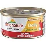 Almo-Daily Menu Da 85 gr Dadini Con Manzo, per gatto 159, [24 pezzi]