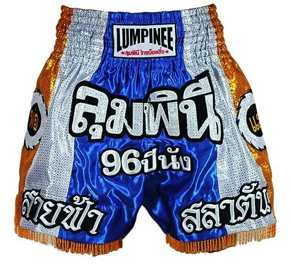 Lumpinee LUM-003 Pantal/ón Corto para Deportes de Lucha