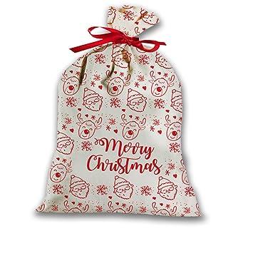 Regali Di Babbo Natale Giochi.Sacco Per Regali Di Natale Idea Regalo Natalizia Culla Renne