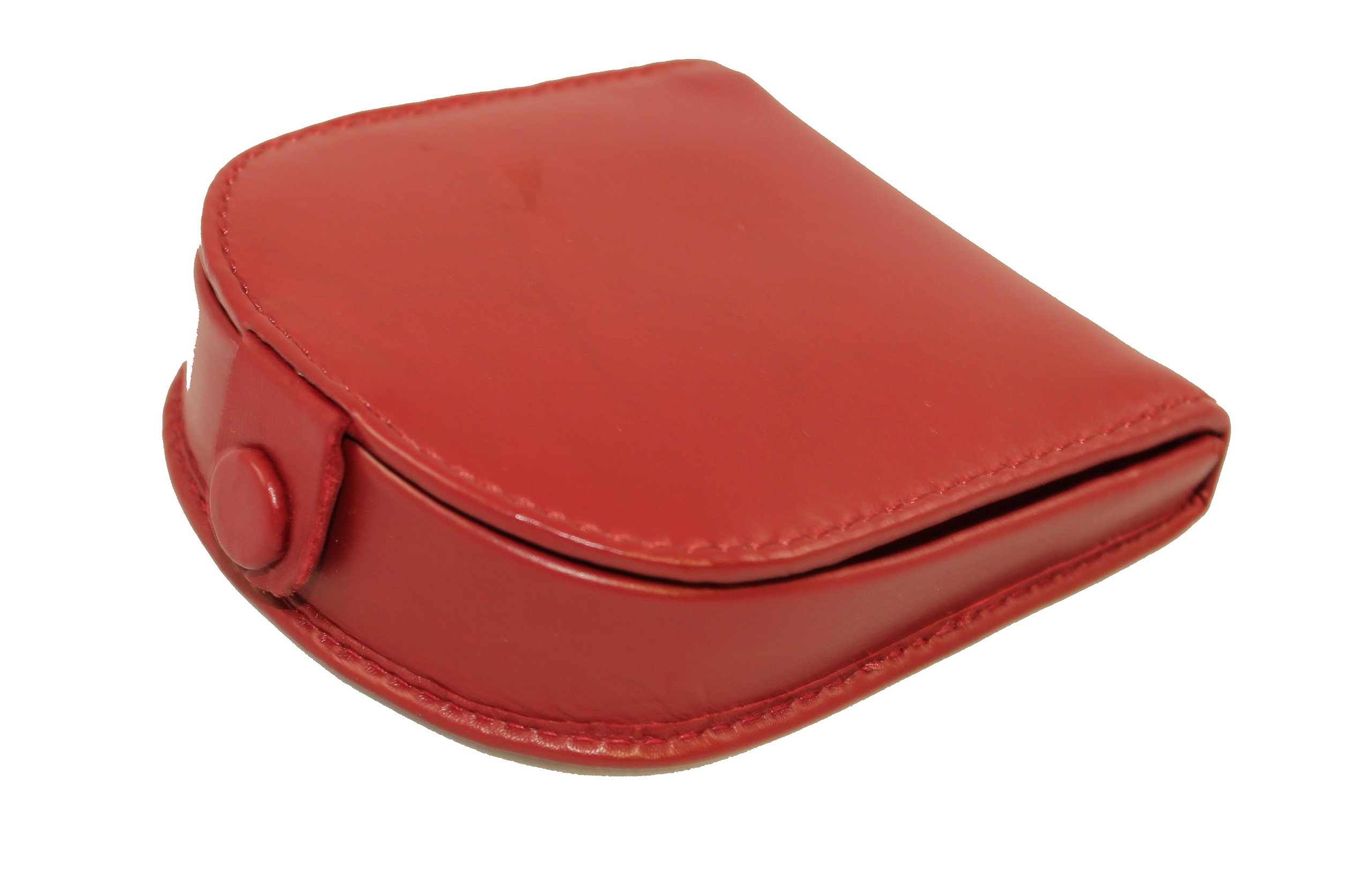 5dfd8244d8 Visconti Polo T-5 Brown Soft Leather Coin Purse Pouch Tray/Change Holder  (Red)