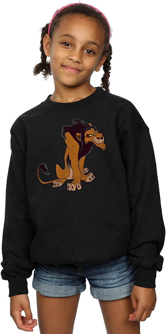 Disney Girls The Lion King Classic Scar T-Shirt