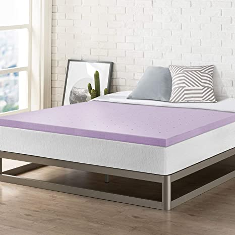 Best Price Mattress Xl 2 Inch Memory Foam Bed Topper With With Lavender Cooling Mattress Pad, Twin Extra Long Size, by Best Price Mattress