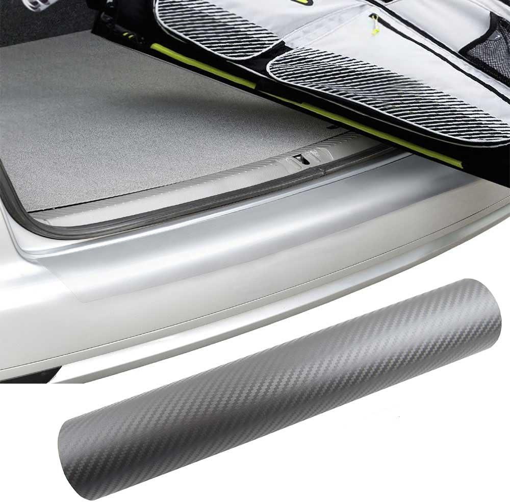 Premium Ladekantenschutz Folie Lack Schutz Kratzer Carbon Grau Viele Fahrzeuge Auto