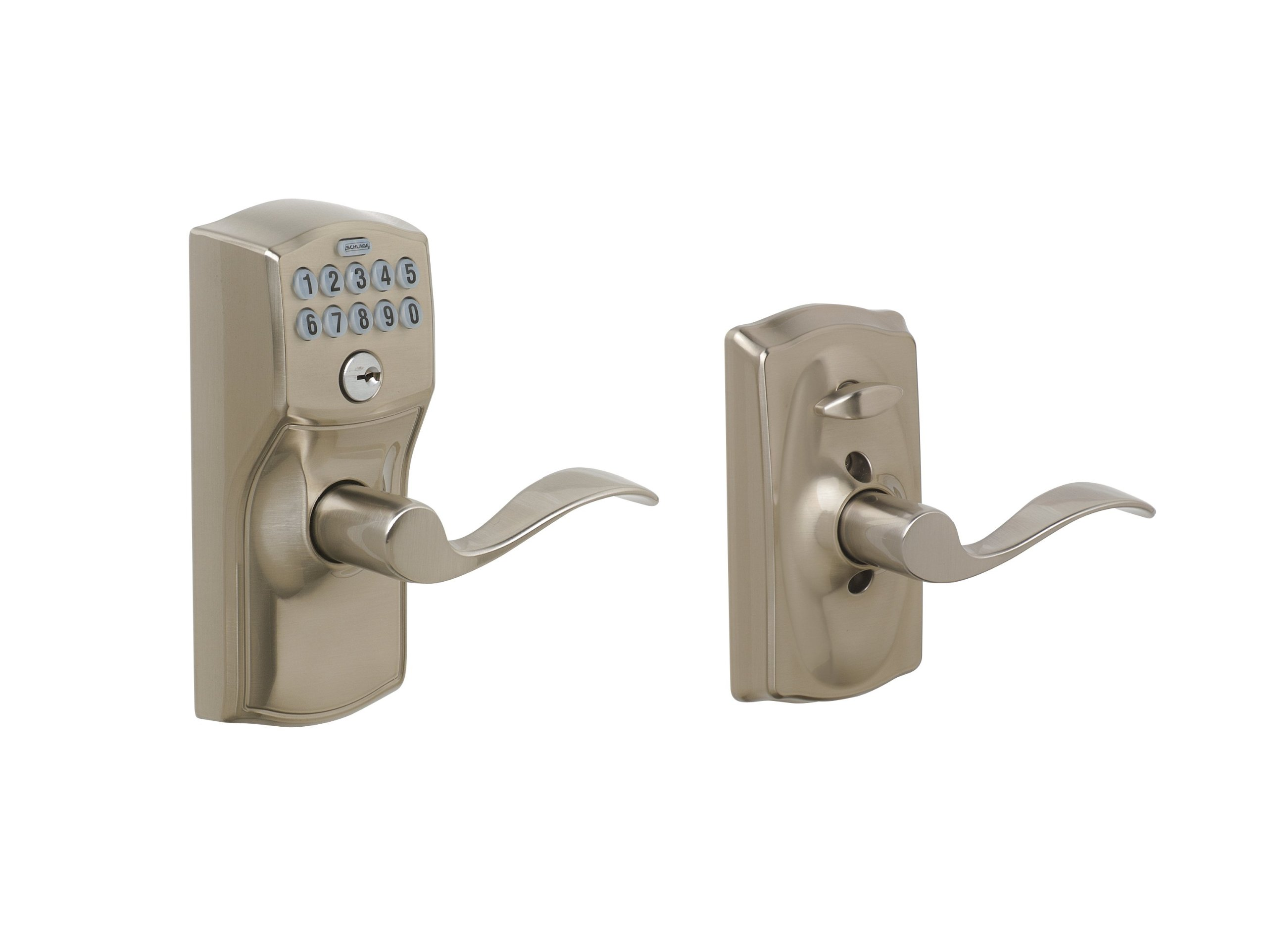 Galleon Schlage Fe595 Cam 619 Acc Camelot Keypad Entry