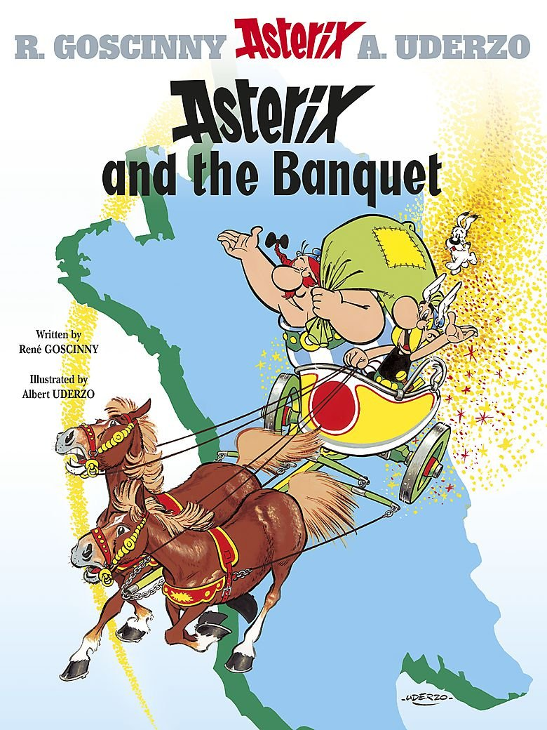 Asterix and the Banquet: Album 5