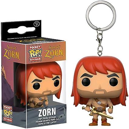 Amazon.com: Funko Zorn Pocket POP! x Son of Zorn Mini ...