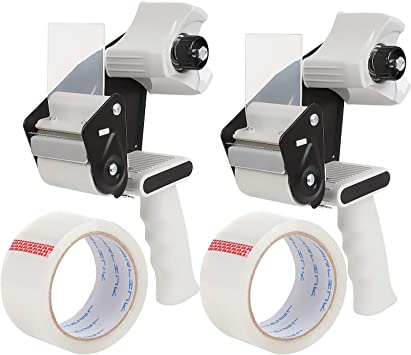 Hand-Held Tape Dispenser Industrial Side Loading 2 Inch