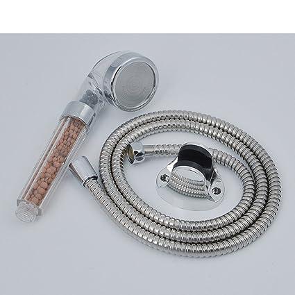 Regadera/ boquilla de mano Turbo/Ahorro de agua de ducha/Boquilla de calentador