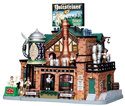 Amazon.com: Lemax Sights and Sounds Caddington Village Christmas ...