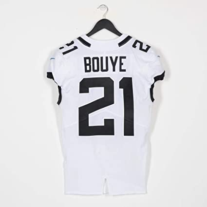 detailed look 82686 7c3b5 A.J. Bouye Jacksonville Jaguars Game-Used White #21 Jersey ...