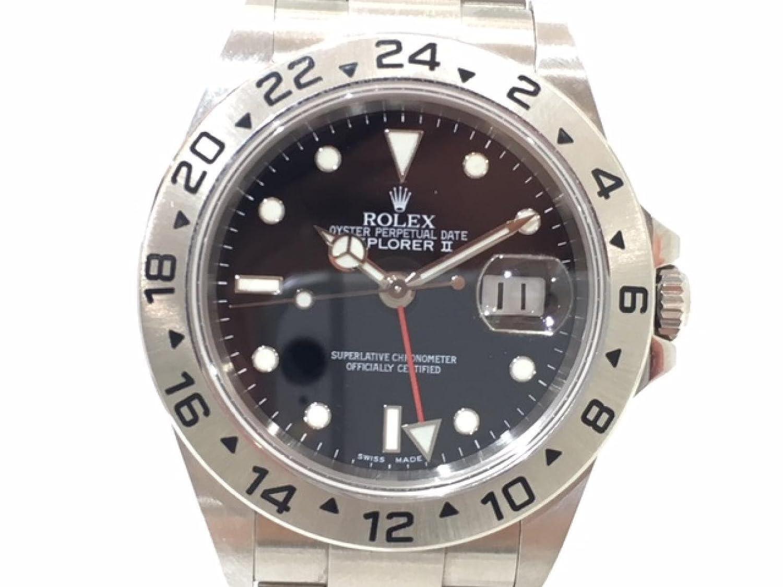 [ロレックス] ROLEX エクスプローラー2 腕時計 WATCH シルバー ステンレススチール(SS) 16750 [中古] メンズ B0798Q5WNL
