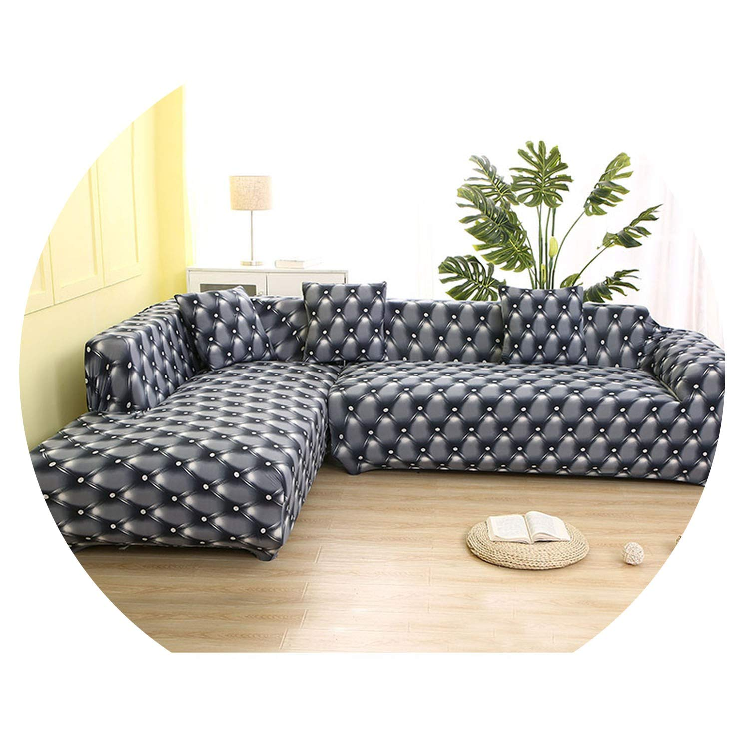 Amazon.com: Sofa Cover Cotton Stretch Couch Cover Loveseat ...