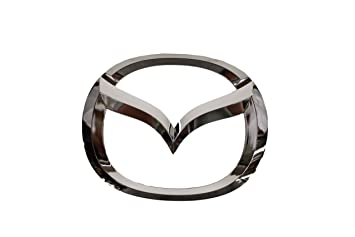 amazon com genuine mazda parts c235 51 731a front logo emblem rh amazon com mazda logo font mazda logon