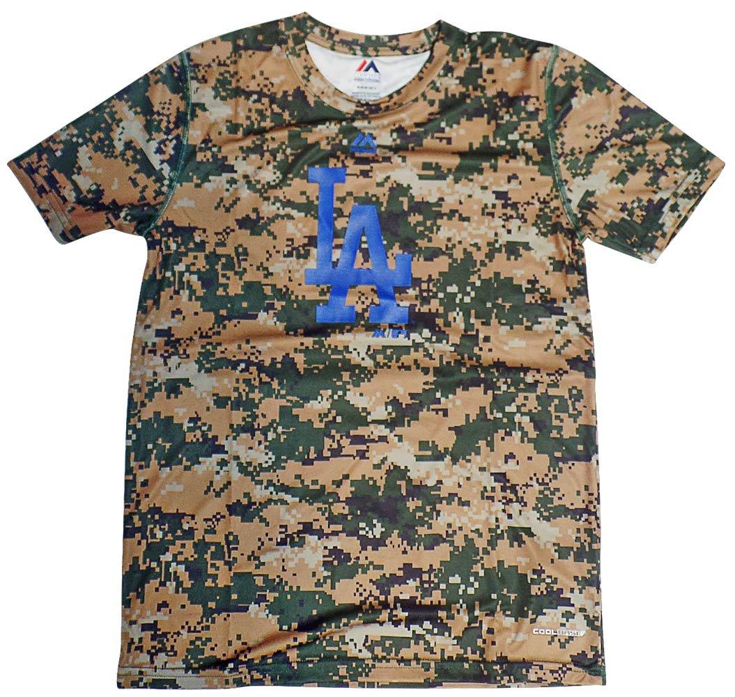 2019新作モデル Los Angeles Angeles Dodgers Dodgers Youthデジタル迷彩クールベースTシャツ B072PT55TP, 前田かしわ店:d68612d7 --- a0267596.xsph.ru