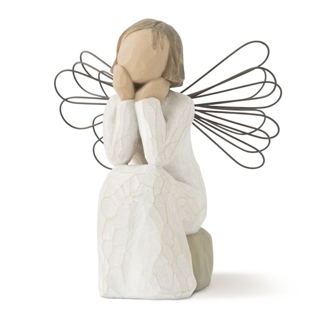 Willow Tree hand-painted sculpted angel, Angel of Caring
