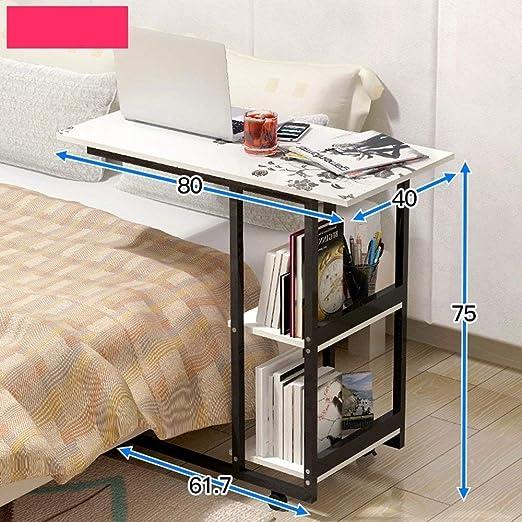 AOLI Hogar Dormitorio Escritorio simple Estantería multifunción ...