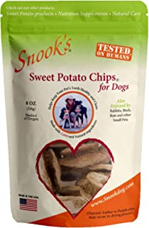 product image for Snooks Sweet Potato Dog Chips 8oz