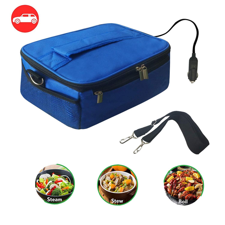 Amazon.com: Calentador de alimentos personal portátil de 12 ...