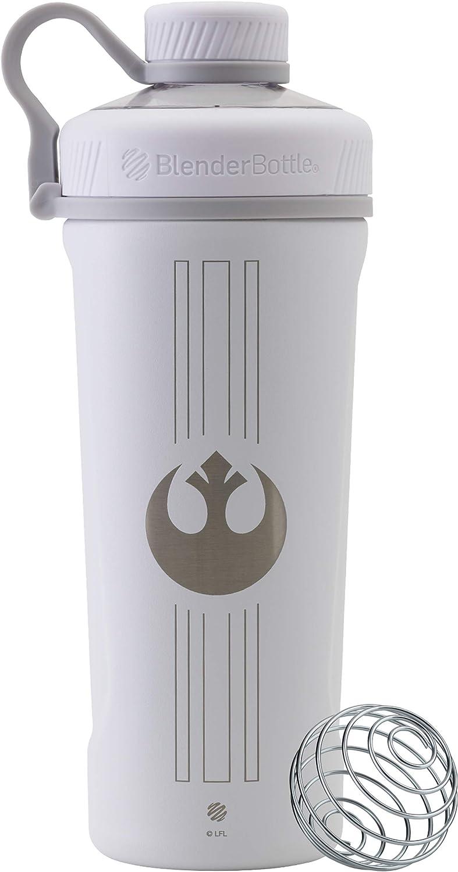 BlenderBottle C04282 Star Wars Radian Stainless Steel Shaker Bottle, 26oz, Rebel Icon