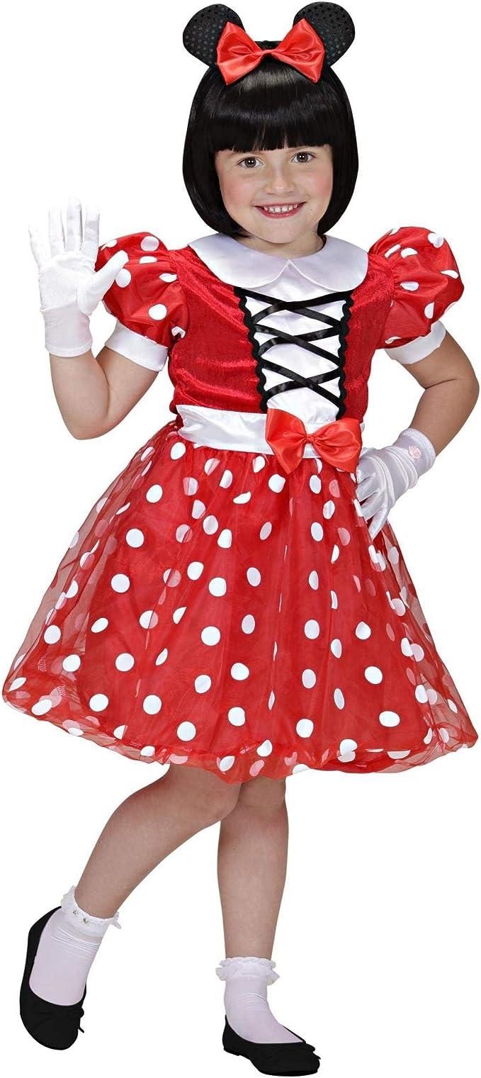 WIDMANN - Disfraz de Mickey Mouse para niños, multicolor, 104 cm/2 ...