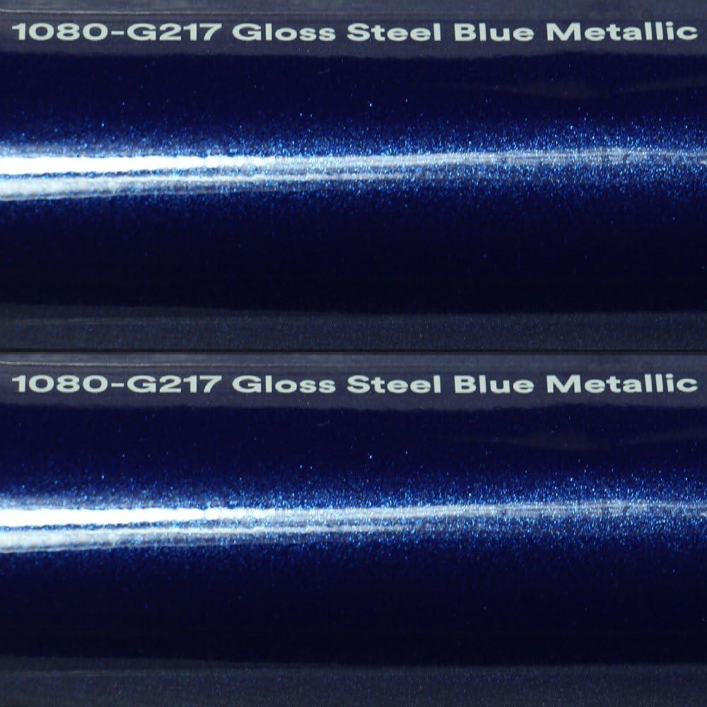 20 72 M 3m Autofolie Scotchprint Wrap Film 1080 Gloss G217 Steel Blue Metallic Gegossene Glanz Profi Folie 152cm Breite Blasenfrei Mit Luftkanäle Küche Haushalt