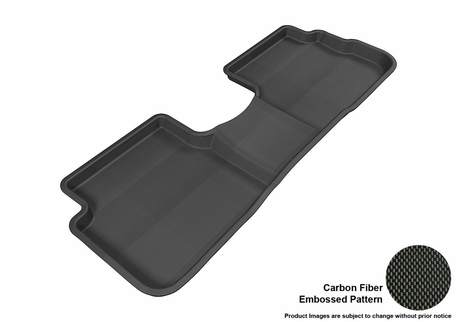 3D MAXpider Second Row Custom Fit All-Weather Floor Mat for Select Pontiac Vibe Models Tan L1PA00121502 Kagu Rubber