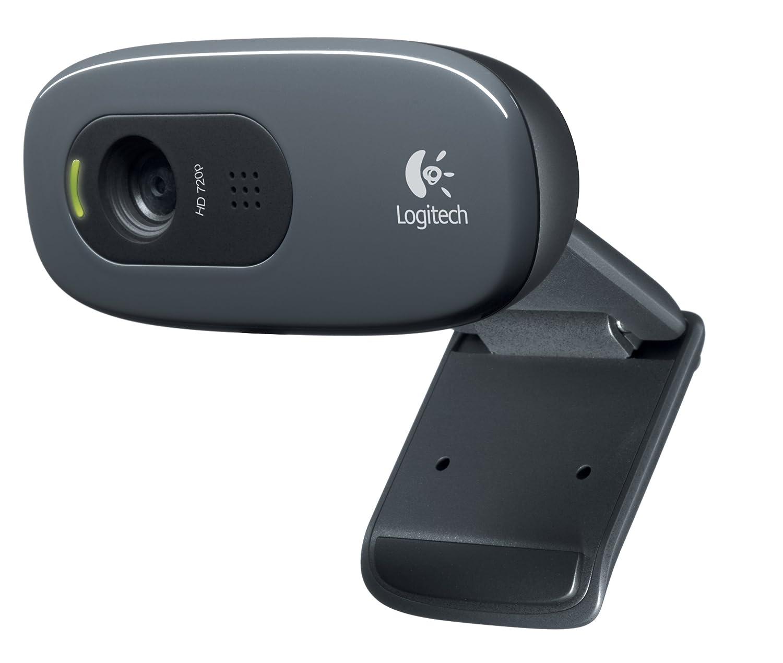 Logitech C270 Widescreen HD Webcam and 3