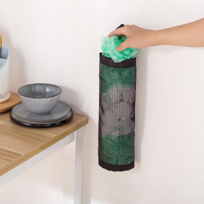 2 PCS Kunststoff Tasche Halterung Spender DIY Aufhängen ...