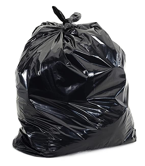 Amazon.com: 58 Gallon - Bolsas negras para basura, 55,88 x ...