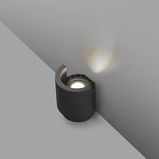 Faro Barcelona 70576 - NOBORU LED Proyector/bañador de pared gris ...
