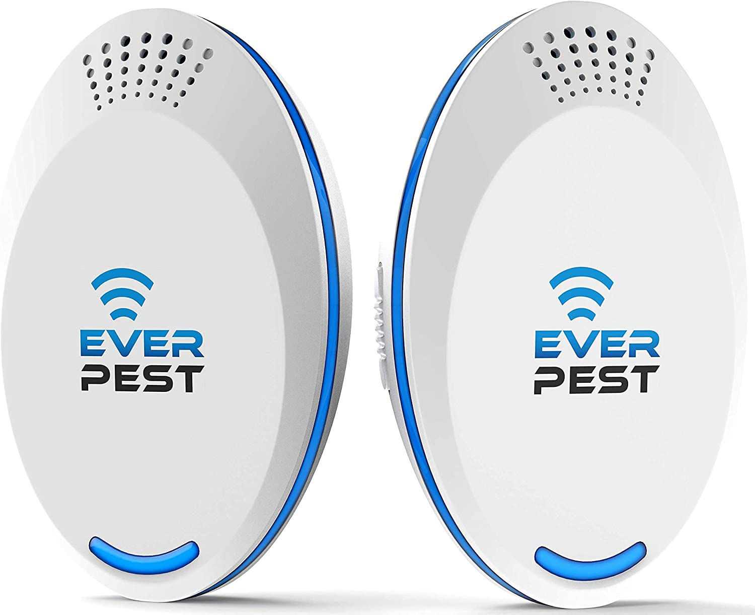 Ultrasonic Pest Repellent Control 2021 (2-Pack), Plug in Home, Flea, Rats, Roaches, Cockroaches, Fruit Fly, Rodent, Insect, Indoor and Outdoor Repeller, Get Rid of Mosquito, Ants, Mouse Bugs Mice