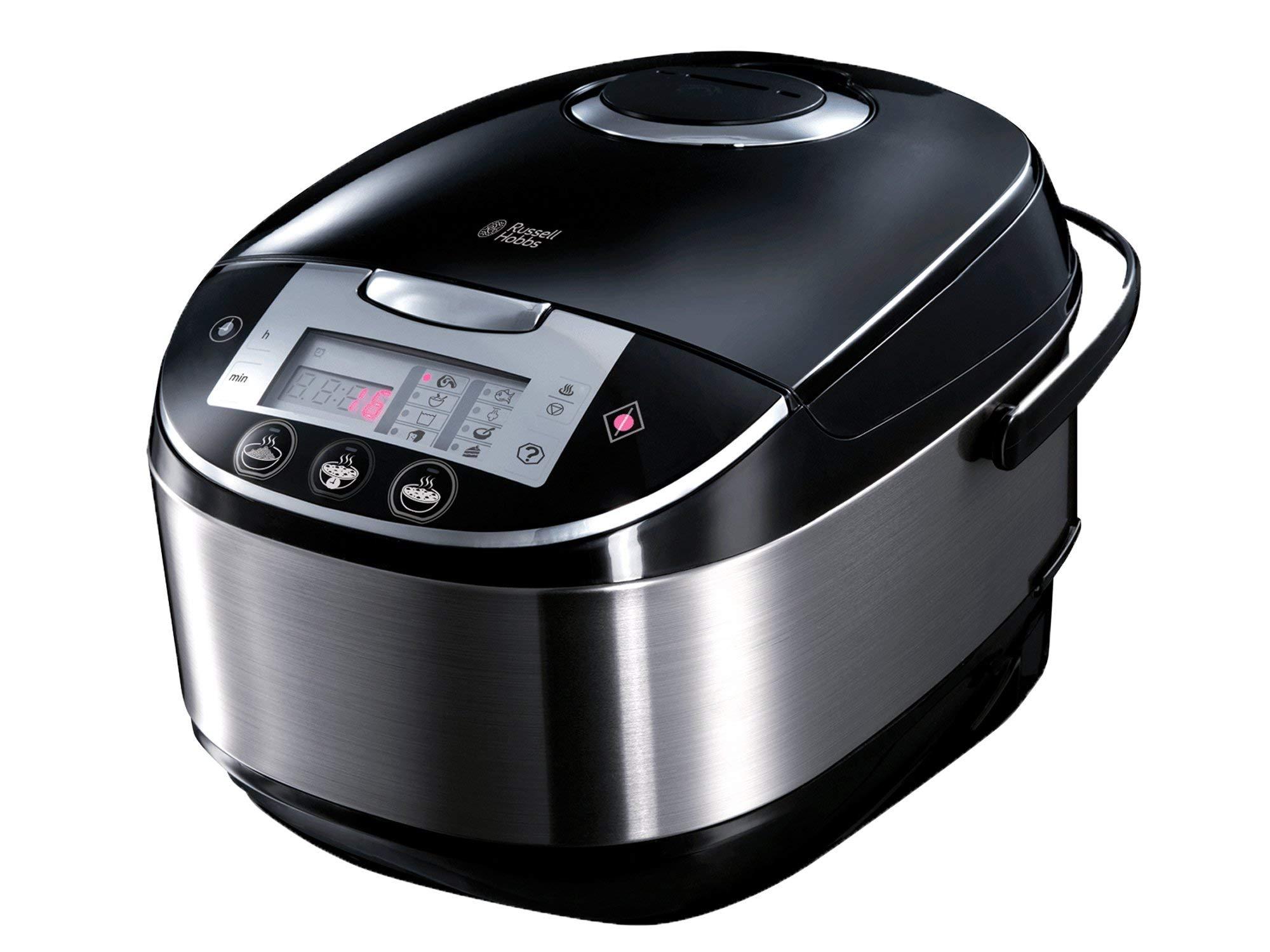 Russell Hobbs Cook@Home Robot de cocina 900 W, 5 litros, Negro,