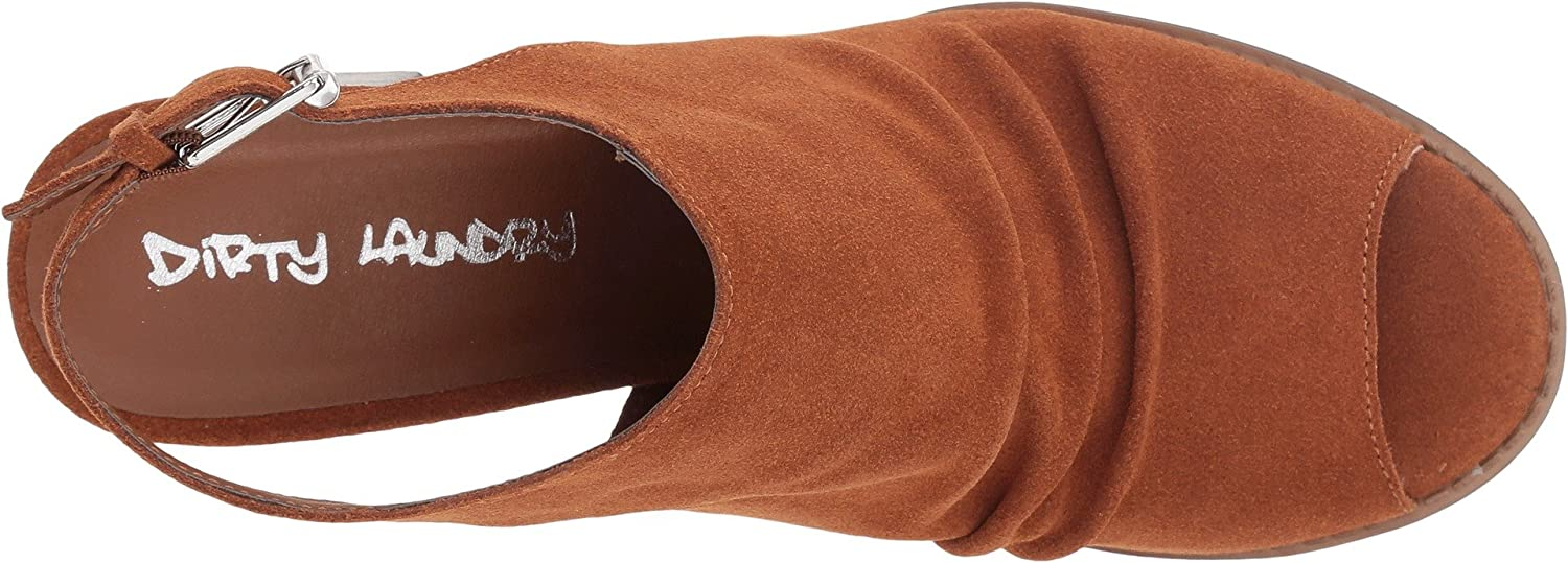Dirty Laundry Women's US|Rusty Tena Ankle Boot B07C8LZTR4 5.5 B(M) US|Rusty Women's Brown Suede e3e0be