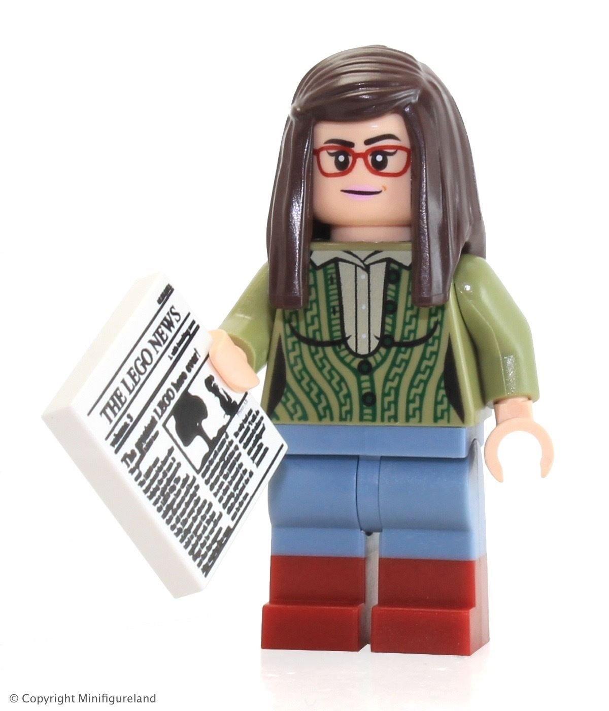 Amazon.com: LEGO Ideas Big Bang Theory Minifigura – Amy ...