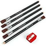 Arteza Eraser Pencil, Precision Latex-Free & PVC-Free Soft Eraser White Color Pencil with Brush and Pocket Size…