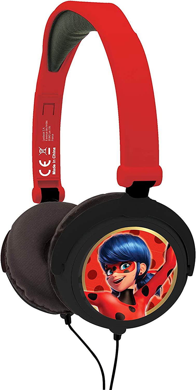 Miraculous Ladybug-HP015MI Auriculares Estéreo Plegables, Color ...
