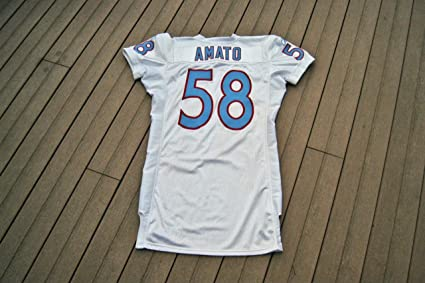 outlet store 418a4 e5c6c 2009 Tennessee Titans - Ken Amato Legacy Game-Worn Jersey ...