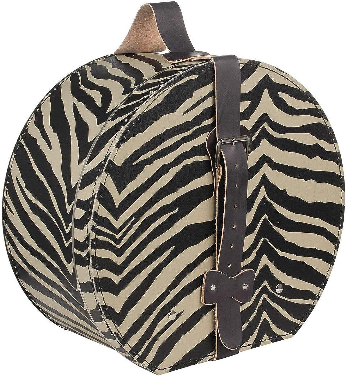 Lierys Caja para Sombrero Cebra Mujer - Verano/Invierno