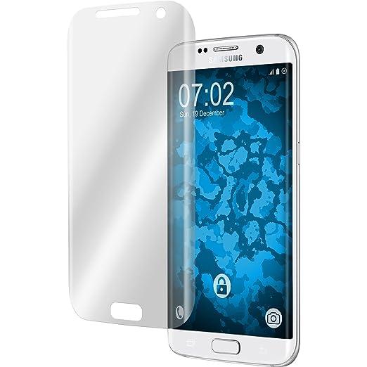 19 opinioni per 4 x Samsung Galaxy S7 Edge Pellicola Protettiva chiaro curved- PhoneNatic