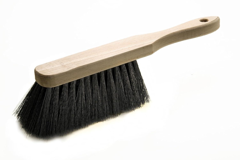 Brosse à main 28cm - Mélange de poils - Manche en bois MW