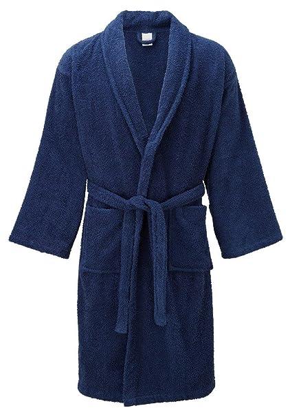 d3b20673a0 Classy Trendz- Ladies Luxury 100% Cotton Terry Towelling Bath Robe Dressing  Gown Wrap Shawl