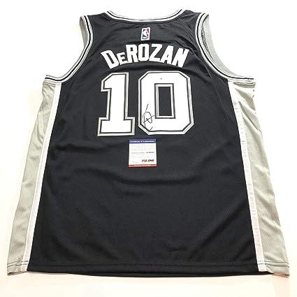 huge discount 05b5e 60022 DeMar DeRozan Autographed Jersey - PSA/DNA Certified ...