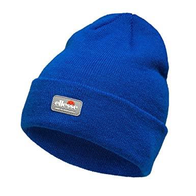 e5c04872 Ellesse Termoli Aria De Montagna Mens Beanie Winter Knitted Hat - Royal Blue:  Amazon.co.uk: Clothing