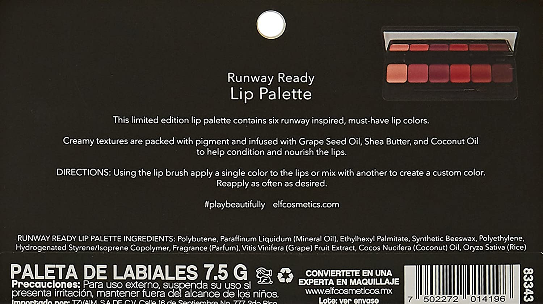 Runway Ready Lip Palette - Pink Kiss by e.l.f. #11