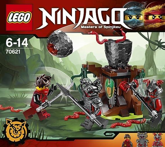 De 70621 Ninjago Guerriers Construction Vermillion Lego L'attaque Jeu Des qSpUMzV