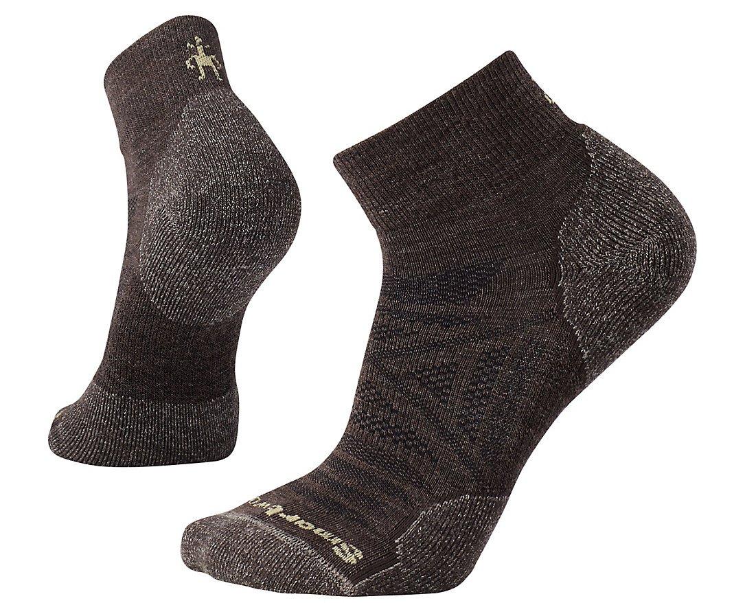 SmartWool Men's PhD Outdoor Light Mini Socks (Chestnut) Large